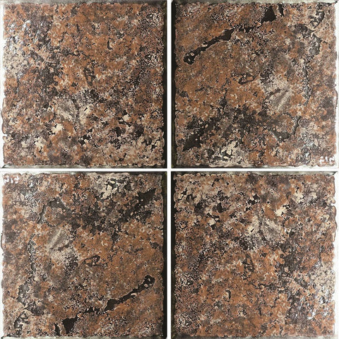 "PATINA-9 - Fujiwa Desert Gold, 6"" x 6"" (4 pcs, 1 sqft) - Porcelain Pool Tile"