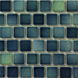 "PEB-168 - North Sea, 1"" x 1"" - Porcelain Pool Tile - Fujiwa"