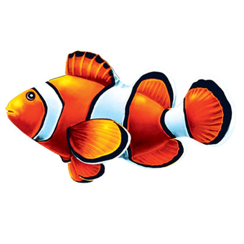 PORC-CL58-5 Clown Fish Custom Mosaics