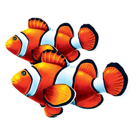 PORC-CL58D-8 Clown Fish Double Custom Mosaics