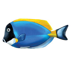 PORC-PT81-5 - Powder Blue Tang - Pool Mosaic