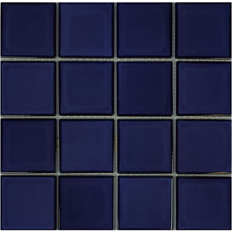 "POWPLHM306PT Aquatica Cobalt Blue, 3"" x 3"" - Porcelain Pool Tile"