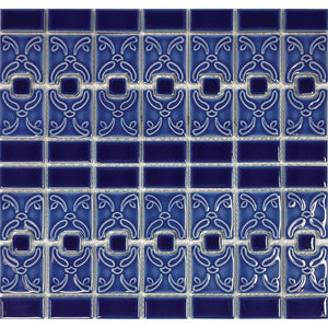 POWPLLC4141PT Aquatica Blueberry, Mosaic - Porcelain Pool Tile