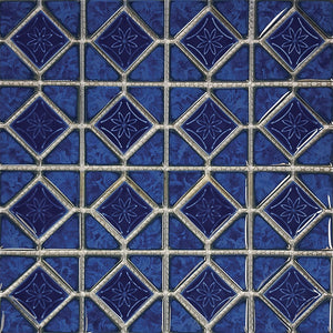 POWPLMAK991PT Aquatica Blueberry, Mosaic - Porcelain Pool Tile