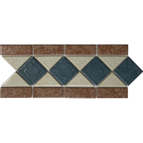 "POWPLLS382PT Aquatica Ocean Gold, 6"" x 13"" - Porcelain Pool Tile"