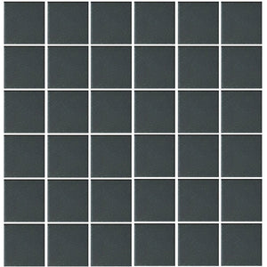 "POWUNGLBLK2PT Aquatica Black, 2"" x 2"" - Porcelain Pool Tile"