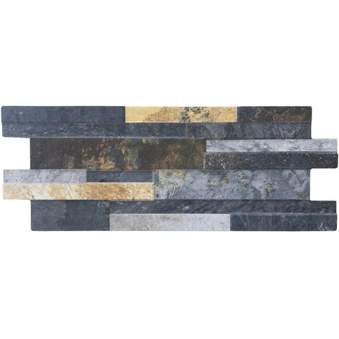 Quarzo Iron, Interlocking - Porcelain Pool Tile