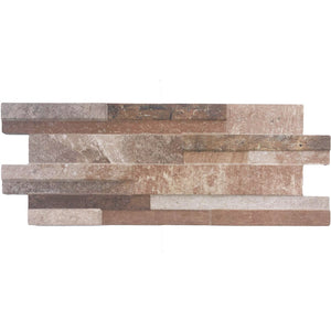 Quarzo Red, Interlocking - Porcelain Pool Tile