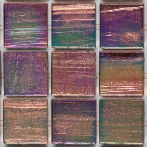 "823 Aurora, 3/4"" x 3/4"" - Glass Tile"