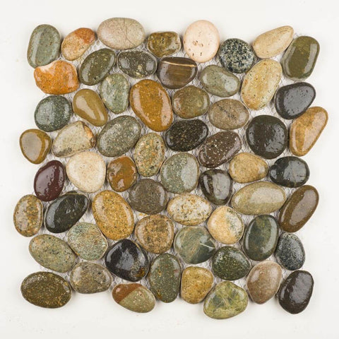 Stone Mosaics - Canyon Blend - Pebble Tile