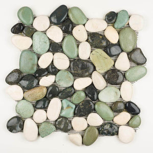 Stone Mosaics - Maui Turtle - Pebble Tile