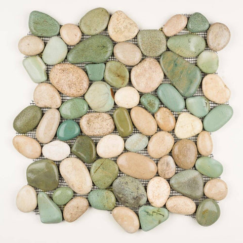 Stone Mosaics - Savannah - Pebble Tile