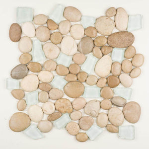 Stone Mosaics - Spring Brook - Pebble Tile