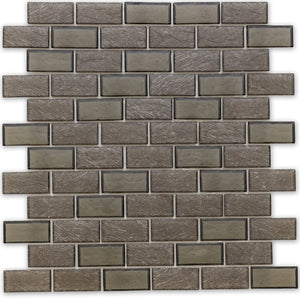 "Northern, 1"" x 2"" Staggered - Glass Tile"