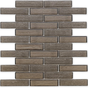 "Northern, 1"" x 4"" Staggered - Glass Tile"
