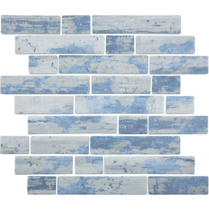 TASBARKASPENML - Aquatica Aspen, Multi-linear - Glass Tile
