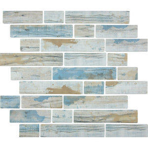 TASBARKBAYML - Aquatica Bay, Multi-linear - Glass Tile