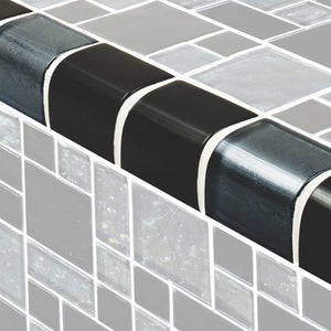 TRIM-GG8M2348K9 - Slate Mixed, Trim - Glass Tile