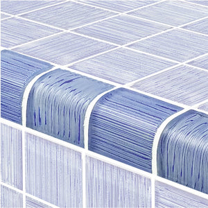 "Light Blue, Trim 2"" x 2"" - Glass Tile"