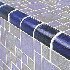 Cobalt Black, Trim - Glass Tile