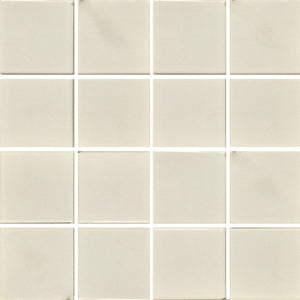 "VIP-702 - White, 3"" x 3"" - Porcelain Pool Tile - Fujiwa"