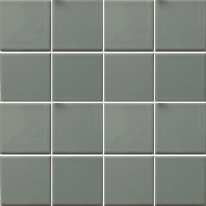 "VIP-703 - Gray, 3"" x 3"" - Porcelain Pool Tile - Fujiwa"