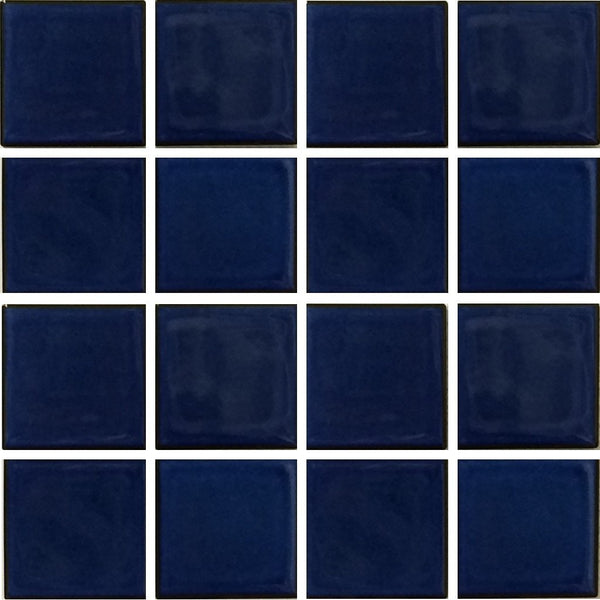 Royal Blue 3 Quot X 3 Quot Vip 791 Fujiwa Porcelain Pool Tile