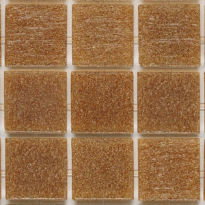 "183 Brown, 3/4"" x 3/4"" - Glass Tile"