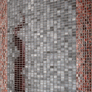 "Mini Brick Black Mix, 1/2"" x 1"" 