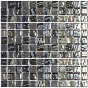 "WEST PALM BEACH MIX - West Palm Beach Mix, 1"" x 1"" Vidrepur Glass Mosaic Tile"