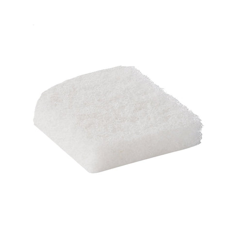 "White Scrub Pad, 4.5"" x 5"" x 1"" - Tile Cleaning Agent"