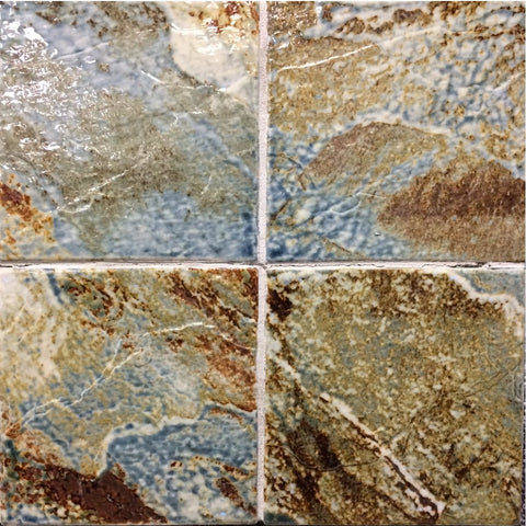 "YOMBA-3 - Topaz, 6"" x 6"" (4 pcs, 1 sqft) - Porcelain Pool Tile - Fujiwa"