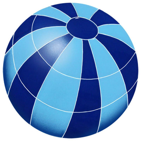 BBABLUS DG Beach Ball Blue Artistry in Mosaics