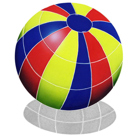 BBSMCOS DG Beach Ball Multi Color w/Shadow Artistry in Mosaics