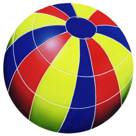 BBAMCOS DG Beach Ball Multi Color Artistry in Mosaics