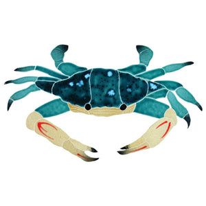 CBSMCOOS Blue Swimmer Crab Artistry in Mosaics