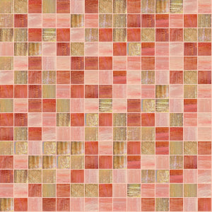 Candy Mix, 3/4 x 3/4 Mosaic Tile | TREND Glass Mosaic Tile