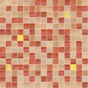 Cheerful Mix, 3/4 x 3/4 Mosaic Tile | TREND Glass Mosaic Tile