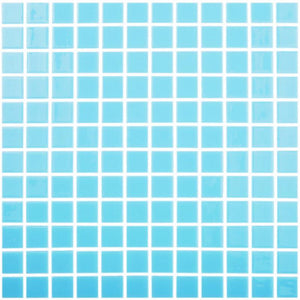 "093107M Celestial Light Blue, 1"" x 1"" Vidrepur"