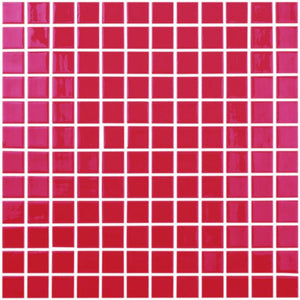 "093808M Red, 1"" x 1"" Vidrepur"