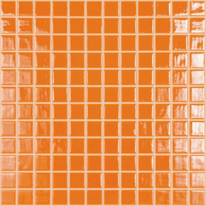 "093820M Orange Burst, 1"" x 1"" Vidrepur"