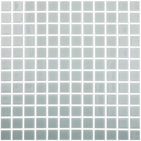 "Clear Grey, 1"" x 1"" - Glass Tile"