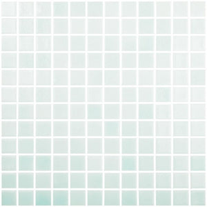 "Fog Green Cannes, 1"" x 1"" - Glass Tile"