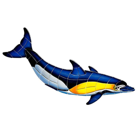CD2-33 Common Dolphin - B Custom Mosaics
