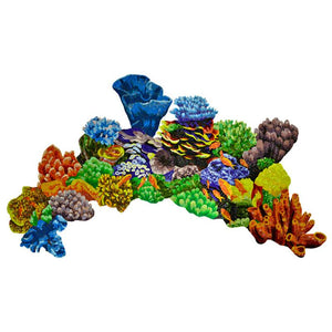 G-CORL Coral Reef, Topview Artistry in Mosaics