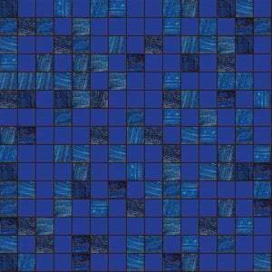 "Abyss, 3/4"" x 3/4"" - Glass Tile"