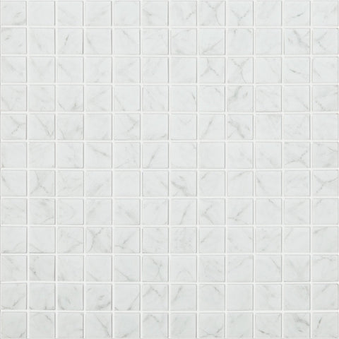 "CARRARA GREY MT Carrara Grey MT 4300, 1"" x 1"" - Glass Tile"
