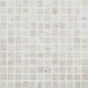 "TRAVERTINO BONE MT Travertino Bone MT 4102, 1"" x 1"" - Glass Tile"