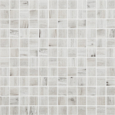 "WOOD FRESNO MT Wood Fresno MT 4202, 1"" x 1"" - Glass Tile"