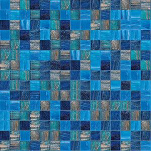 "Energized, 3/4"" x 3/4"" - Glass Tile"